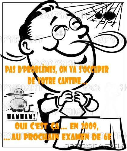 Caricature blog Mots de tete d'Algérie