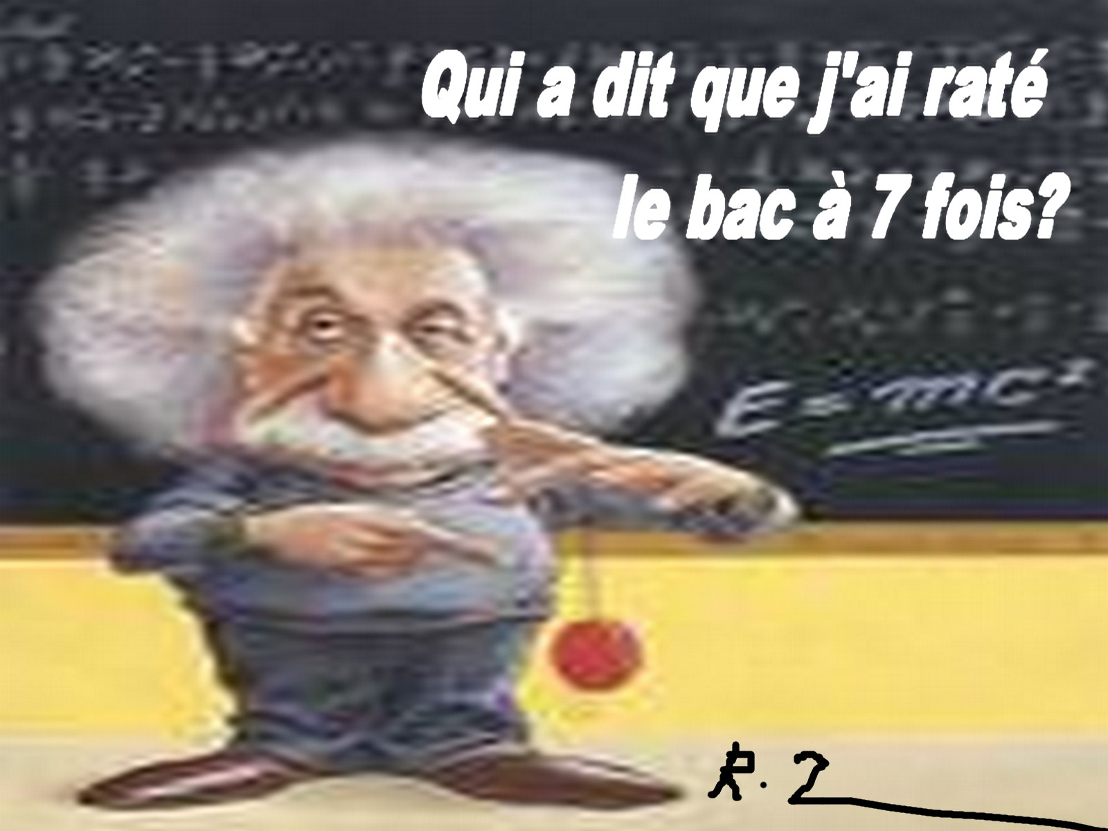rater son bac