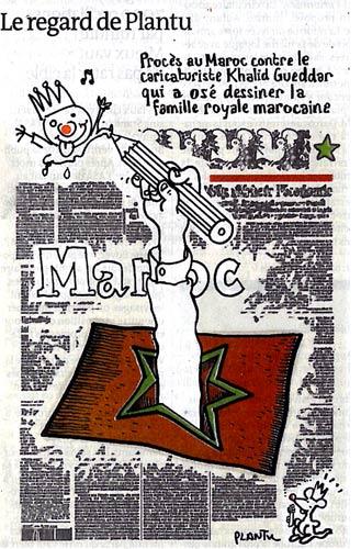 Caricature de Plantu (Le Monde du 22 octobre 2009)