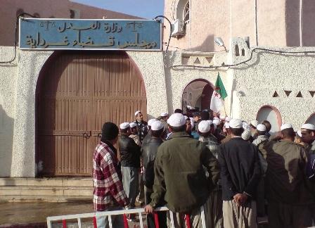 + Procès des militants du FFS de Ghardaïa: Relaxe pour les 17 accusés (Ph.D.R)