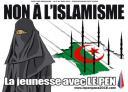Une affiche électorale du FN  provoque l'indignation
