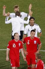 +8es de finale:  Allemagne 4- Angleterre 1: Godbye Three Lions!