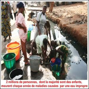 L'accès à une eau de qualité décrété  droit de l'homme