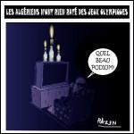 Caricature de Razen (Blog Mots de Tête d'Algérie)