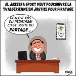 Al-Jazeera sport veut poursuivre la TV algérienne en justice pour piratage