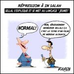 """+ Répression à Ain Salah: Sellal s'explique et se met au langage """"jeunes"""""""