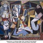 """""""Les femmes d'Alger"""", Picasso, 1955"""
