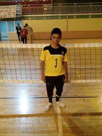 Yacine Guanoun, le plus jeune athlète au niveau national